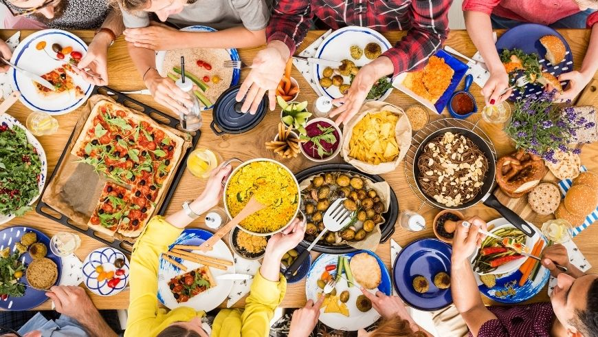 mangiare biologico vuol dire pasti saporiti