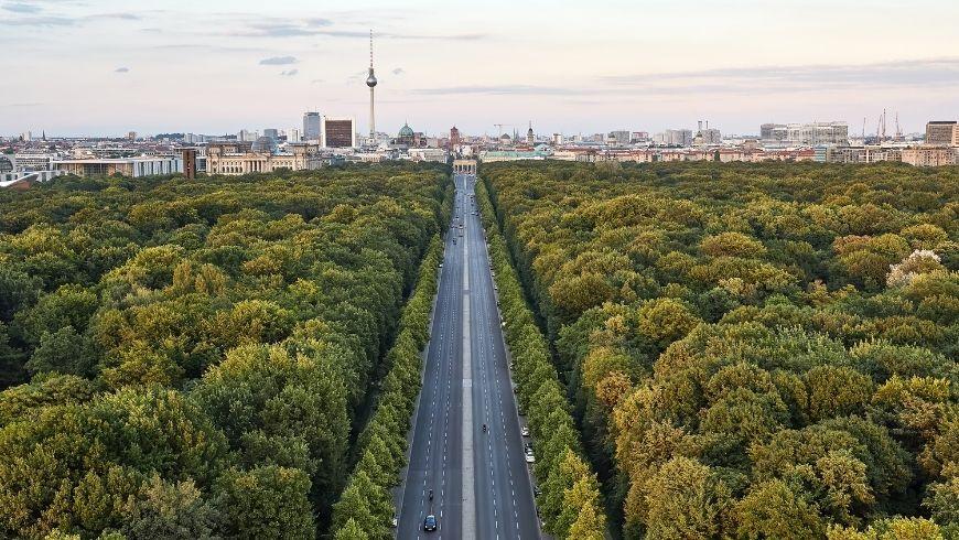 Berlino, Germania, boschi attorno alla città