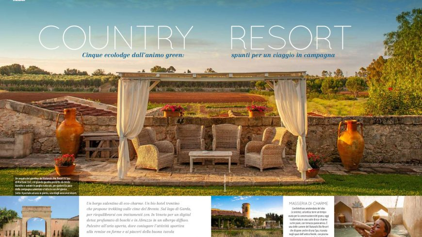 Natural Style, articolo Country Resort