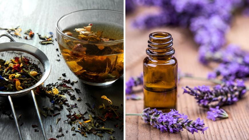 tisane rilassanti e aromi naturali