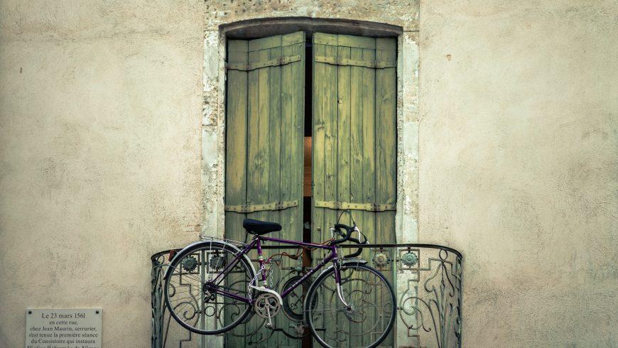 bicicletta, il vantaggio di poterla mettere in un appartamento
