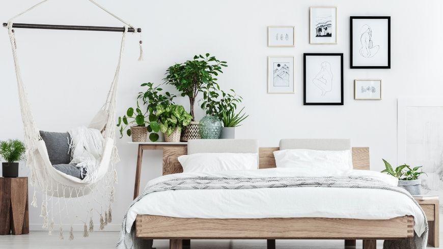camera da letto eco-friendly