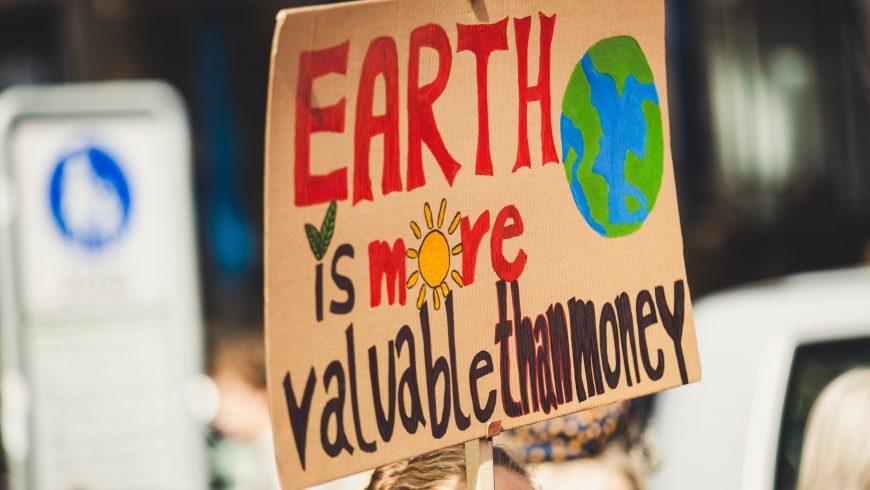 diffondi consapevolezza lotta per il pianeta