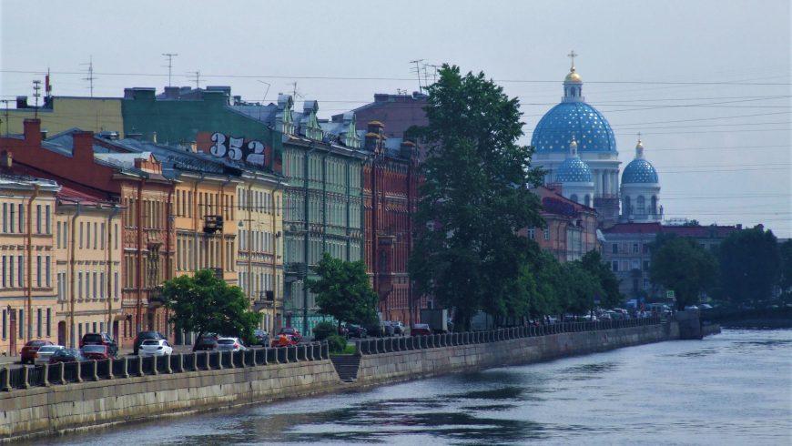 Fontanka, fiume di San Pietroburgo