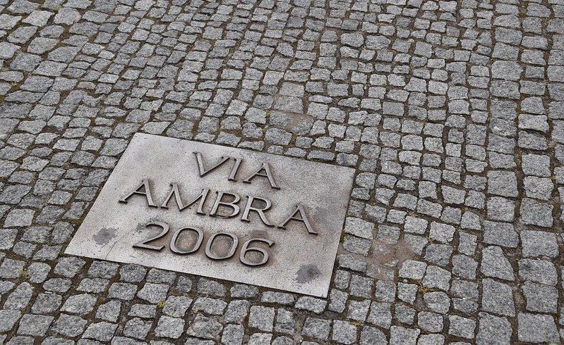 percorso della via dell'Ambra in Polonia