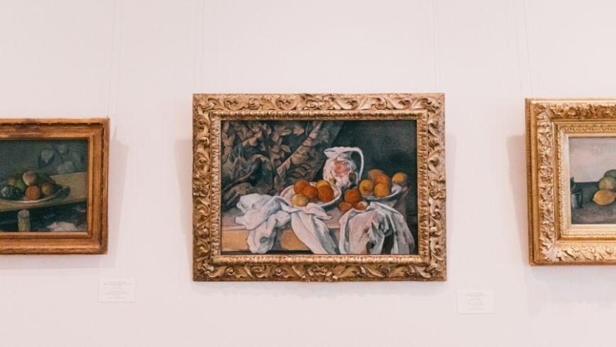 Cezanne all'Hermitage di San Pietroburgo uno dei musei green più belli al mondo