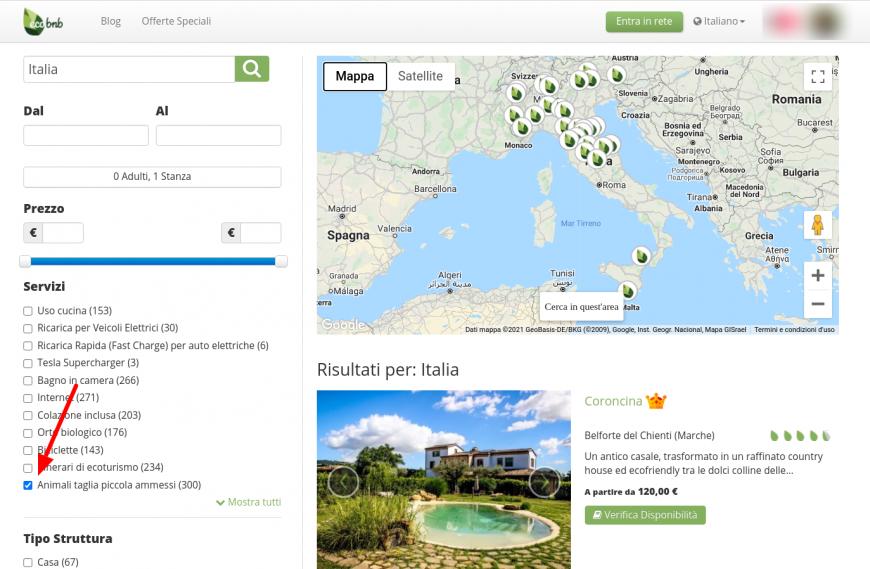 come trovare hotel dog-friendly in Italia