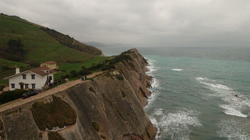 Zumaya, comune basco vicino San Sebastian