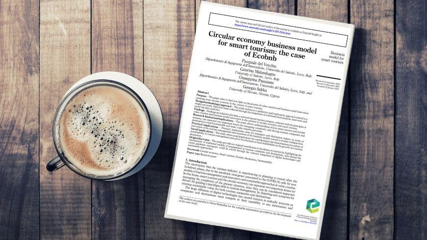economia circolare e sviluppo turistico sostenibile sulla rivista scientifica Emerald Insight