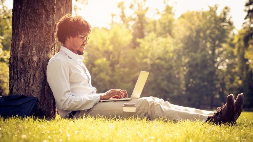 Lavorare nella natura migliora la produttività