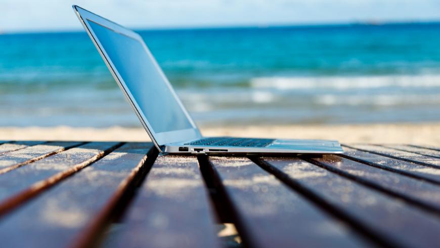 Lavorare smart a pochi passi dal mare