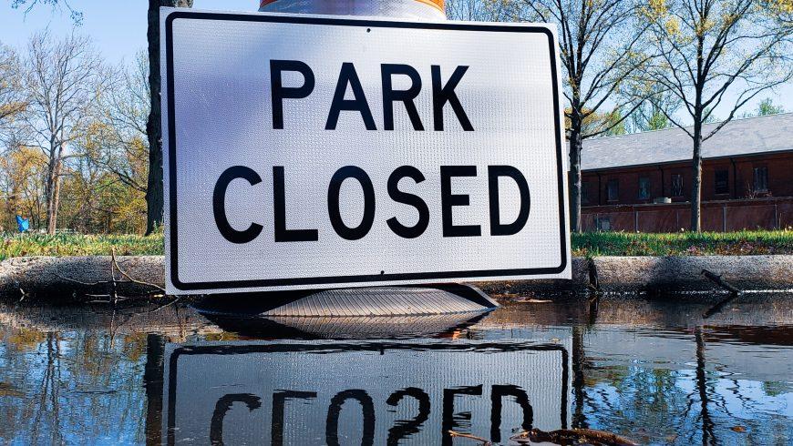 parco chiuso a causa del fenomeno dell'overtourism