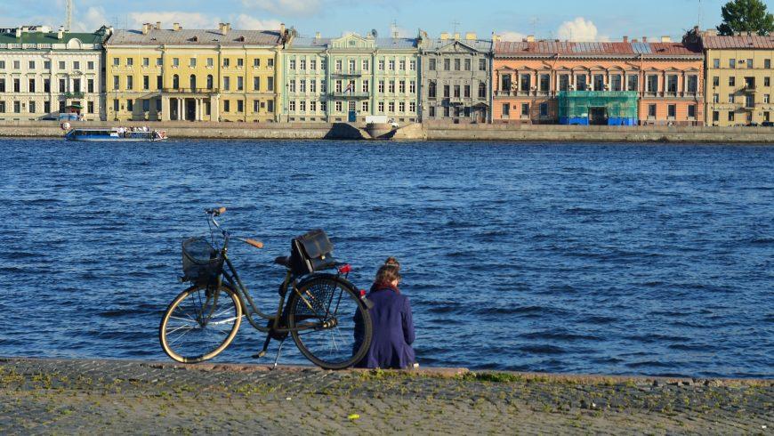 viaggiare green in bicicletta a San Pietroburgo