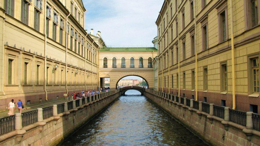 "Zimnyaya Kanavka, il ""Canale d'Inverno"" a San Pietroburgo"