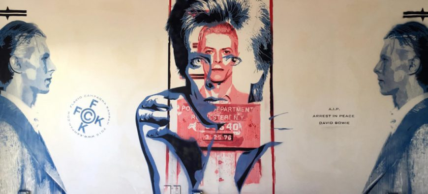 A.I.P. ARREST IN PEACE DAVID BOWIE