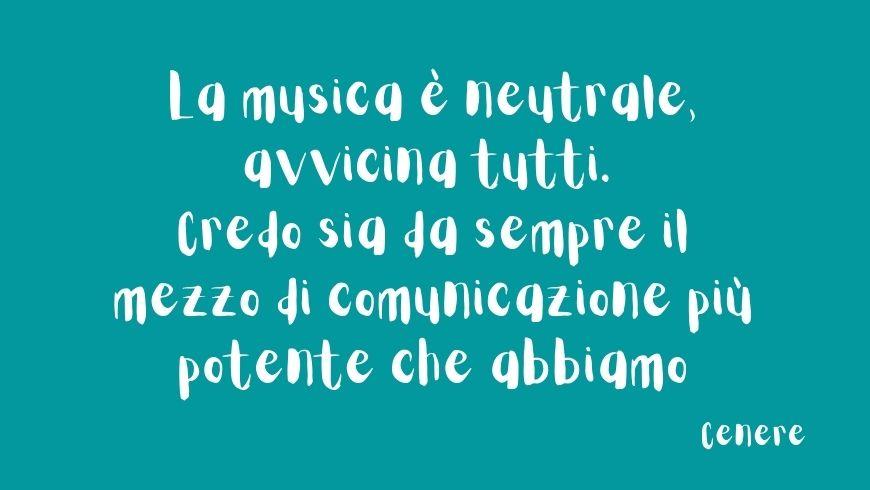 musica cenere