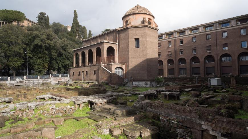 A Sant'Omobono Terme, nel bergamasco, trovi acque termali e resti archeologici