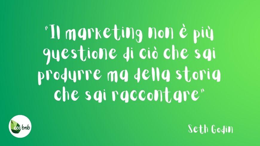 marketing è saper raccontare
