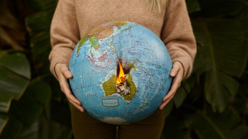 mondo in fiamme, di cui si parla nel contest suoni d'ambiente