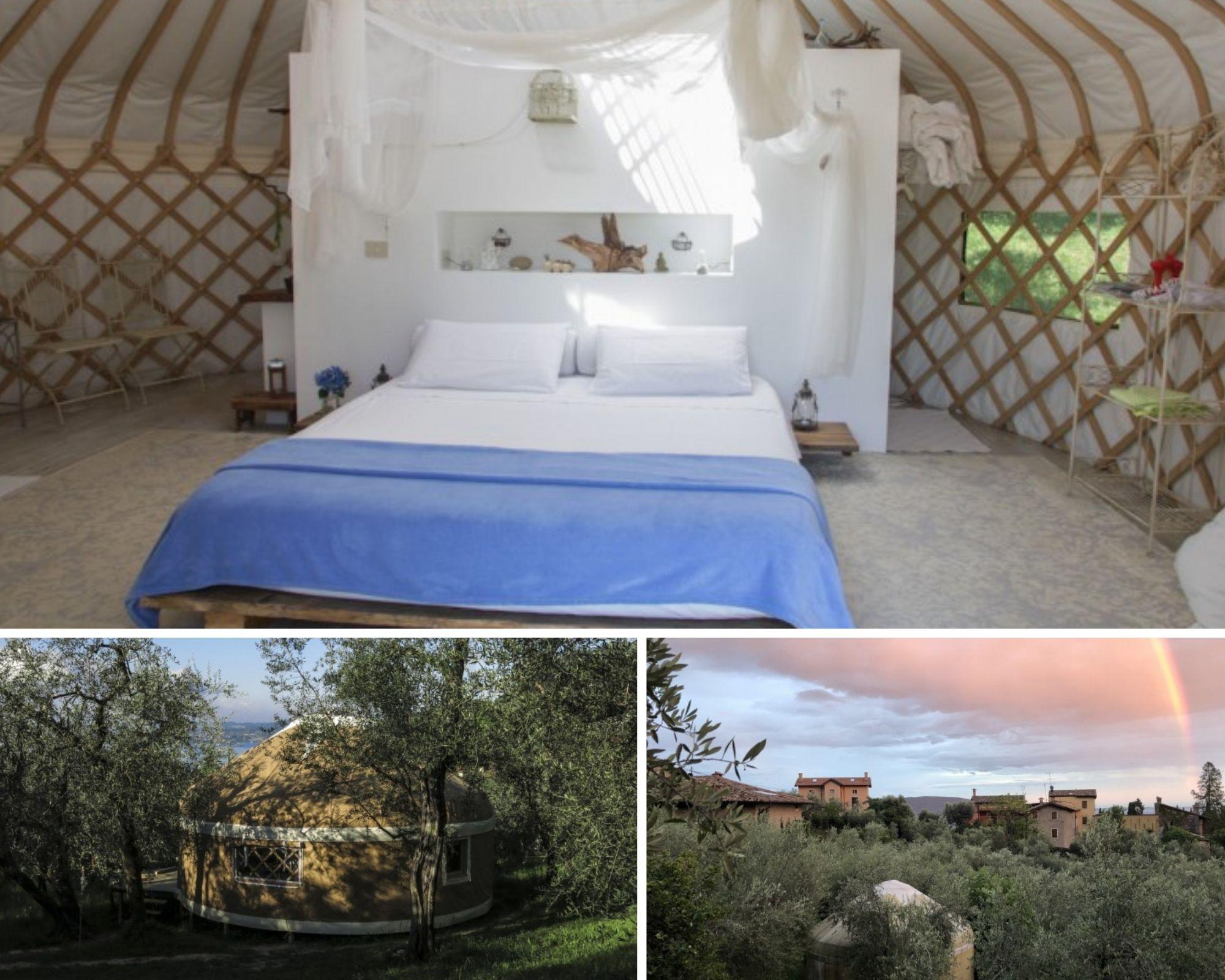 Yurta, per un glamping sui laghi