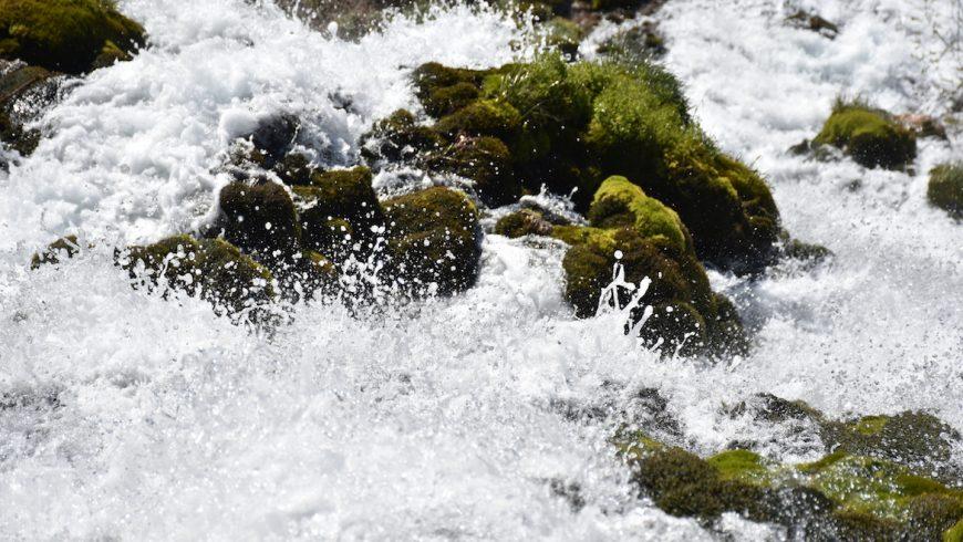 Cascata Rio Bianco, nei dintorni di Stenico