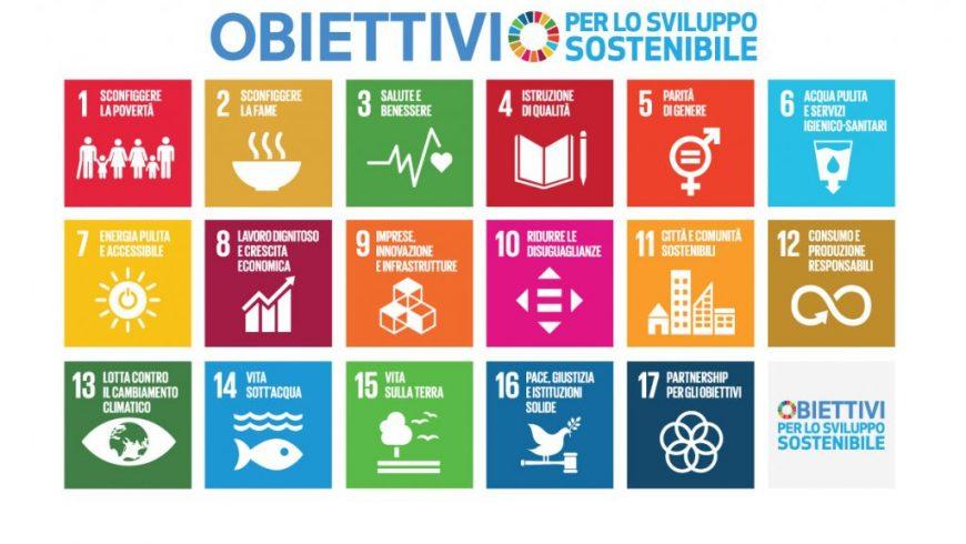 obiettivi dell'agenda 2030 onu
