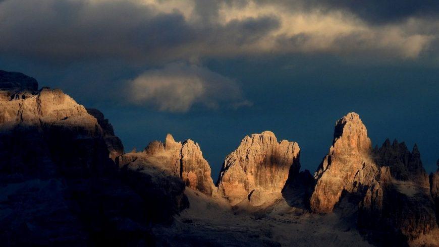Dolomiti del Brenta al tramonto