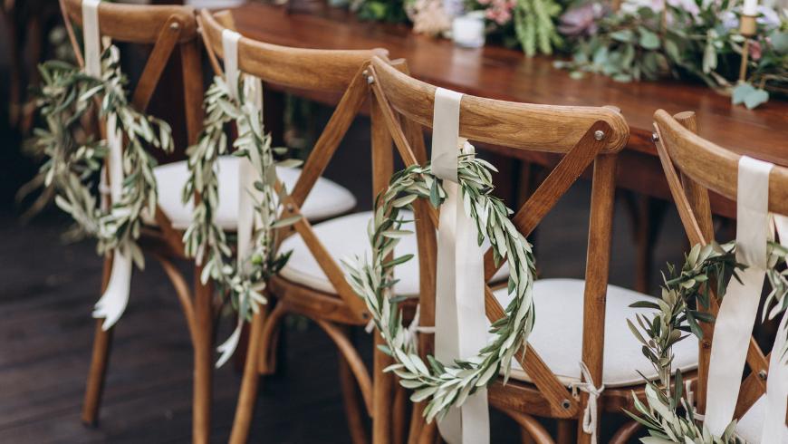 Il ricevimento del tuo matrimonio eco-sostenibile