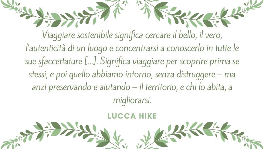 citazione lucca hike