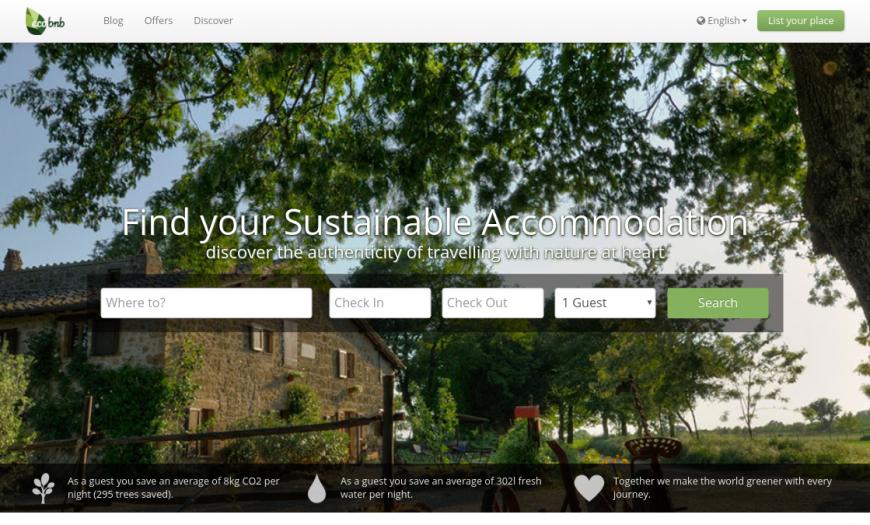 Ecobnb home