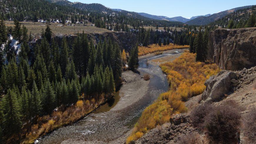 Lago Fork, Gunnison River, Colorado