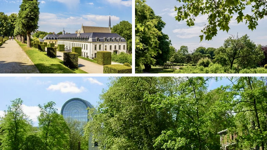 I parchi di Bruxelles. Foto via pinterest.com e visit.brussels