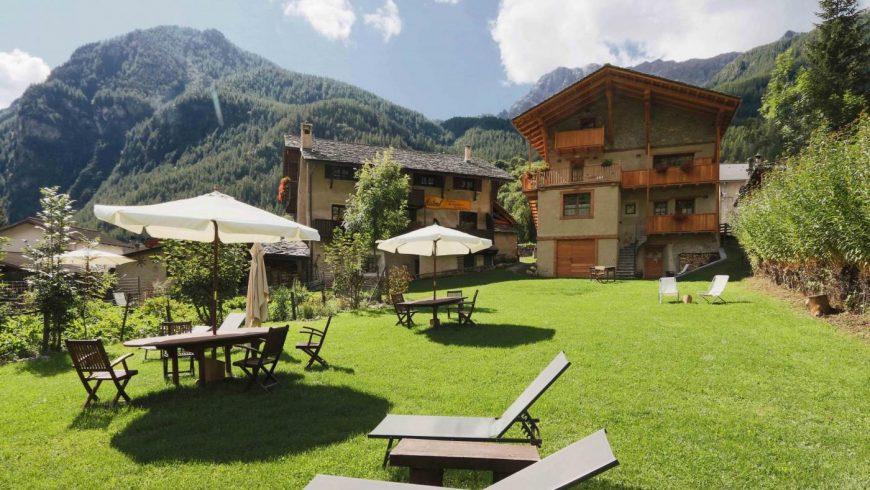 Locanda Mistral: relax in giardino