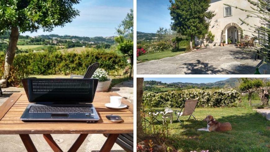 smart working in vacanza