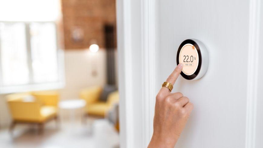 termostato smart per la casa delle vacanze