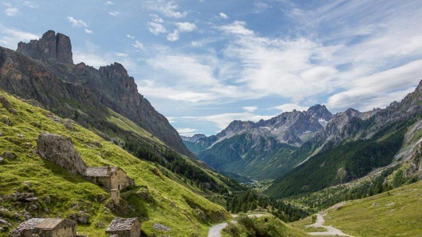 paesaggio della Valle Maira