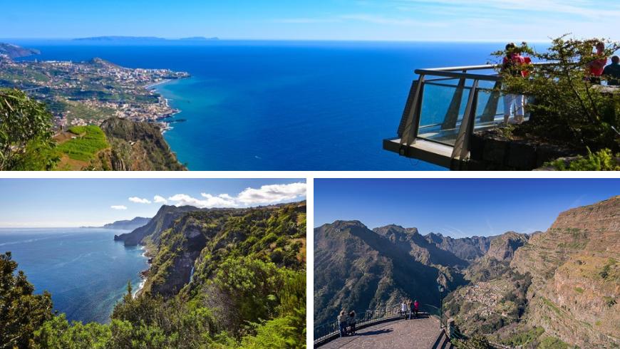 Miradouro, Madeira. Foto di tripadvisor.com, blog.madeira.best, visitmadeira.pt