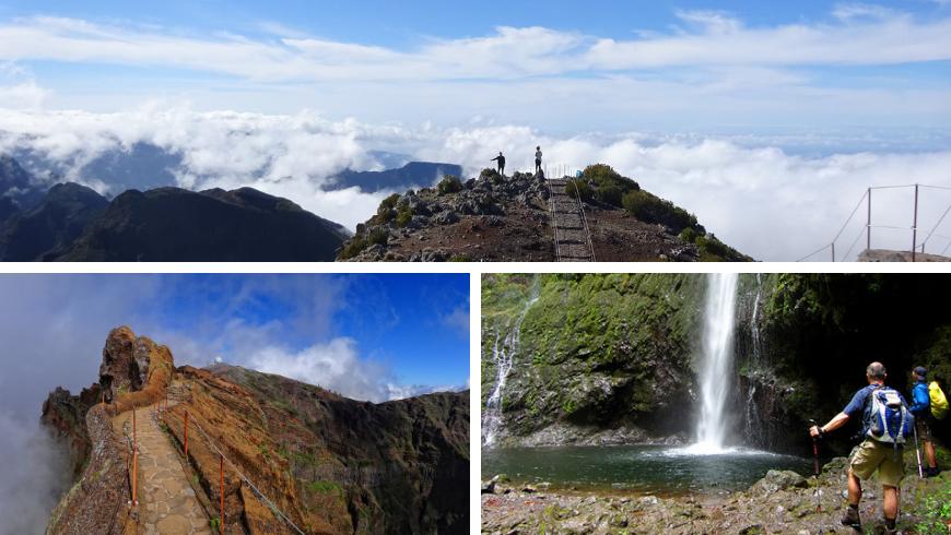 Percorsi Escursionistici, Madeira. Foto di Irene Paolinelli, wikipedia.org, visitmadeira.pt