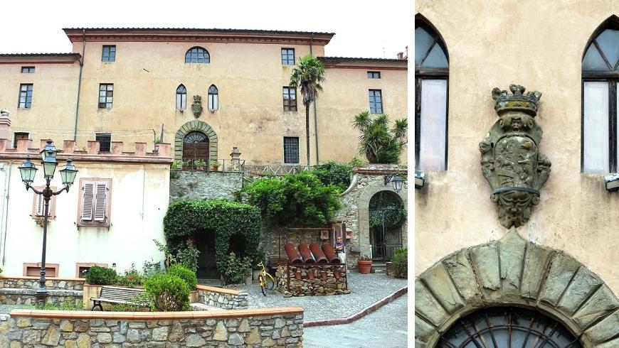 castello di montalvo, una delle tappe per viaggiare verde a sassetta