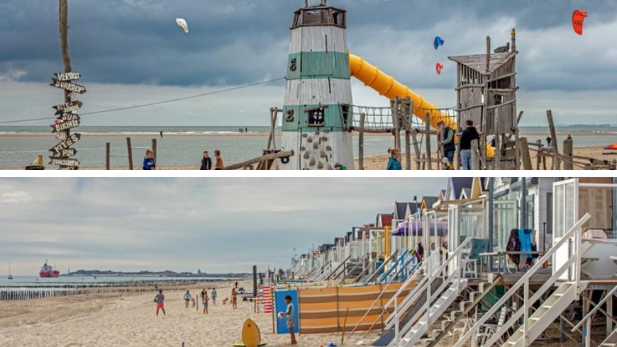 Spiagge per le famiglie. Foto di Zeeland.com