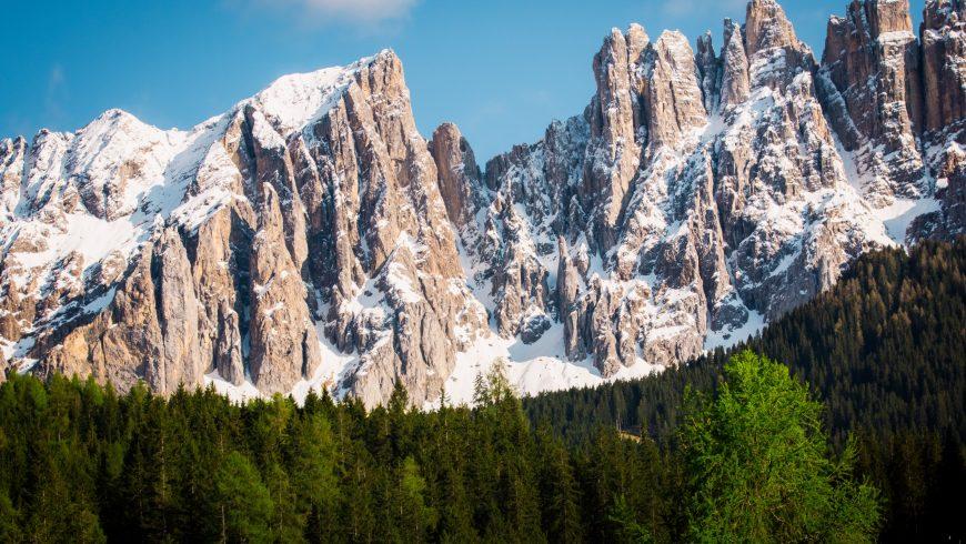 montagne, bosco, Dolomiti di Brenta, Trentino