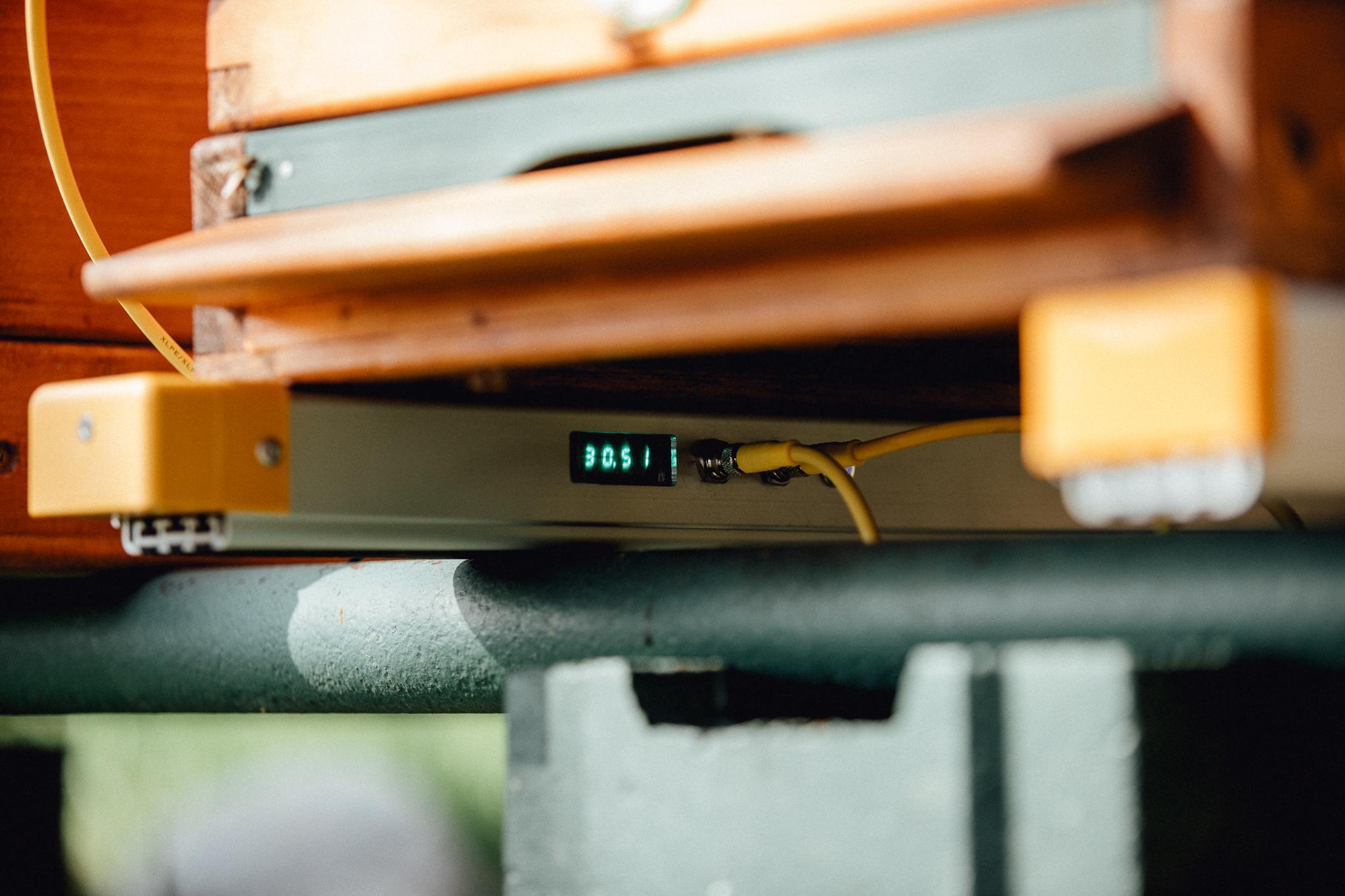 sistema di monitoraggio 3bee