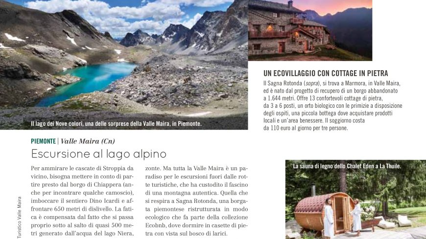 La Valle Maira ed Ecobnb nell articolo di Natural Style