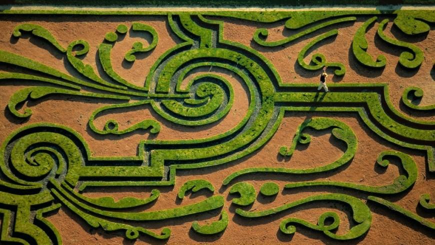 Il labirinto di château de Vaux-le-Vicomte